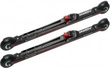 Комплект лыжероллеров Shamov 03-1, колесо: каучук 80мм, для конькового хода, с креплениями Shamov N01 системы NNN