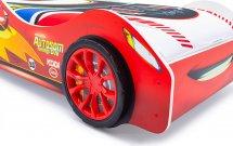 Объемные пластиковые колеса Speedy комплект 2 шт, красный