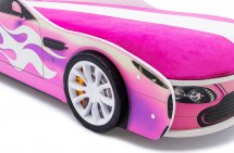 Объемные пластиковые колеса Speedy комплект 2 шт, белый