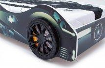 Объемные пластиковые колеса Speedy комплект 2 шт, черный