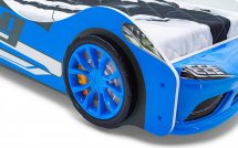 Объемные пластиковые колеса Speedy комплект 2 шт, синий