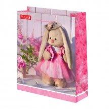 Пакет подарочный Зайка Ми 26х32 см, розовый