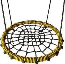 Качели-гнездо BabyGrad 80 см черно/желтый