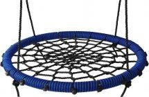 Качели-гнездо BabyGrad 80 см черно/синий