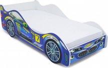Комплект кровать-машина Молния и матрас Гармония Эконом Д10 160х70