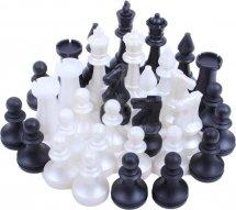 Шахматы Ладья-С обиходные пластмассовые без игрового поля