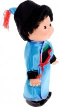 Кукла Весна Веснушка Мальчик в бурятском костюме