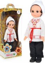 Кукла Весна Мальчик в чувашском костюме