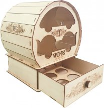 Мини бар WINE collection Вимовер 320х245х245 мм бесцветный лак