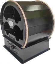 Мини бар Бочка 320х245х245 мм черный