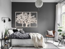 Настенное панно триптих Дерево древесина без покрытия 1060х750х3 мм