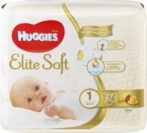 Подгузники Huggies Elite Soft 1 (до 5 кг) 27 шт
