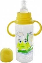 Бутылочка Курносики 250 мл, желтый (лягушонок)