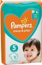 Подгузники Pampers Sleep&Play 5 (11-16 кг) 11 шт