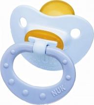 Пустышка Nuk Baby Blue для сна латекс. ортодонт. 0-6 мес