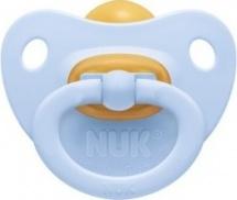 Пустышка Nuk Baby Blue латекс ортодонтическая с 0 до 6 мес