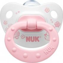 Пустышка Nuk Baby Rose силикон ортодонтическая с 0 до 6 мес