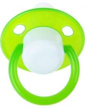 Пустышка Пома Зеленая силикон круглая с 0 мес