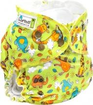 Многоразовый подгузник GlorYes Classic Plus (3-18 кг) жирафы