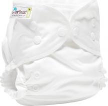 Многоразовый подгузник GlorYes Classic Plus (3-18 кг) белый