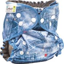 Многоразовый подгузник GlorYes Optima (3-18 кг) джинс