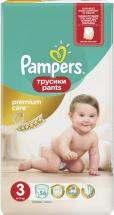 Трусики Pampers Premium Care 3 (6-11 кг) 56 шт