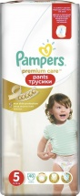 Трусики Pampers Premium Care 5 (12-18 кг) 40 шт