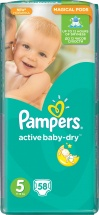 Подгузники Pampers Active Baby 5 (11-18 кг) 58 шт