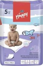 Bella Baby Happy Пеленки детские, 60х90, 5 шт