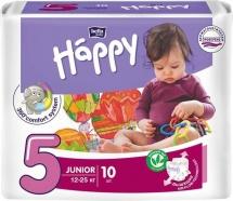 Подгузники Bella Happy Junior 5 (12-25 кг) 10 шт