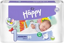 Подгузники Bella Happy Newborn 1 (2-5 кг) 25 шт