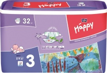 Подгузники Bella Happy 3 (5-9 кг) 32 шт