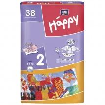 Подгузники Bella Happy 2 (3-6 кг) 38 шт