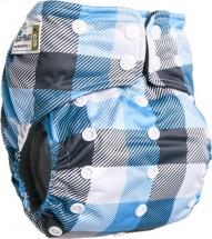 Многоразовый подгузник GlorYes Premium (3-18 кг) клетка