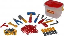 Набор инструментов №1 Полесье 72 элементов в ведерке