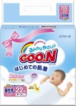 Подгузники Goon NB (0-5 кг) 22 шт