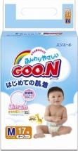 Подгузники Goon M (6-11 кг) 17 шт
