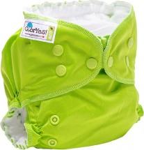 Многоразовый подгузник GlorYes Classic Plus (3-18 кг) зеленый