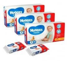 Набор Huggies Classic 11-25 кг