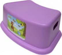 Подставка детская Бытпласт, фиолетовая