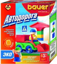 Конструктор Bauer Автодорога ЭКО 32 элемента