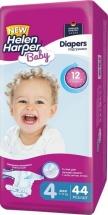 Подгузники Helen Harper Baby 4 (7-14 кг) 44 шт