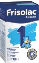 Сухая смесь Friso Фрисолак №1 с 0 до 6 мес 350 г