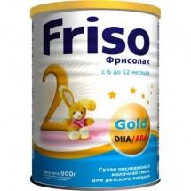 Сухая молочная смесь Friso Фрисолак Gold №2 6 - 12 мес 900 г
