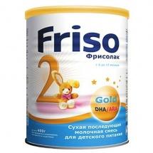 Сухая молочная смесь Friso Фрисолак Gold №2 6 - 12 мес 400 г