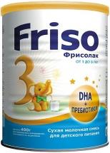 Сухая молочная смесь Friso Фрисолак 3 c1года 400 г