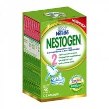 """Сухая молочная смесь """"Нестожен №2"""", с 6 до 12 мес., 700гр., Nestle"""