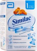 Сухая смесь Симилак №1 с 0 до 6 мес 700 г