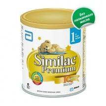 """Сухая молочная смесь """"Симилак Премиум №1"""", с 0 до 6 мес., 900гр., Similac"""