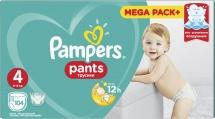 Трусики Pampers 4 (9-15 кг) 104 шт